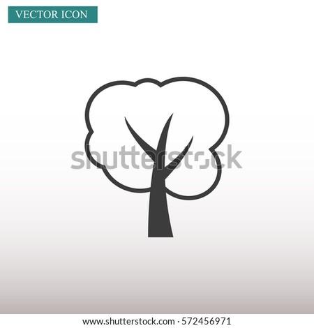 tree vector icon