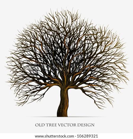 tree vector silhouette
