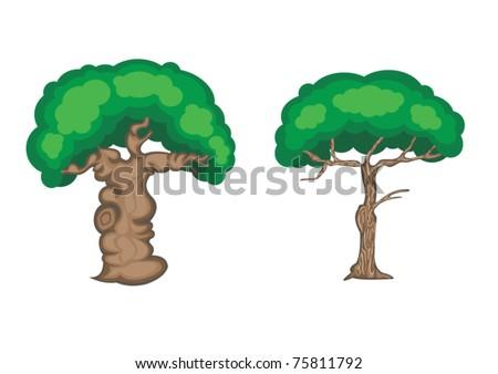 Tree Cartoon Images Trees Cartoon