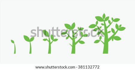 Tree Growth Download Free Vector Art Stock Graphics Images
