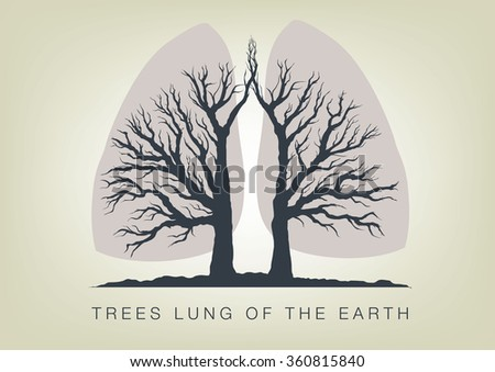 trees   the lungs of the planet