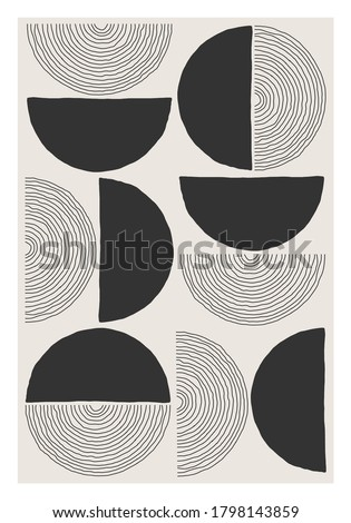trendy abstract creative
