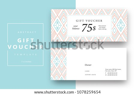 Geometric Luxury Certificate Template Vector Design Download Free