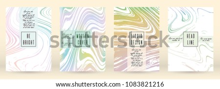 trendy cover design for your
