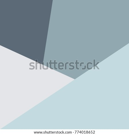 Trendy design vector abstract color block geometric background