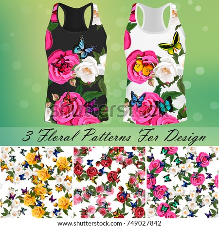 trendy fashion rose and