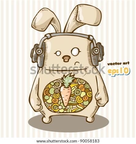 trendy rabbit