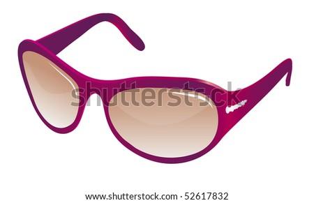 trendy red sunglasses for women