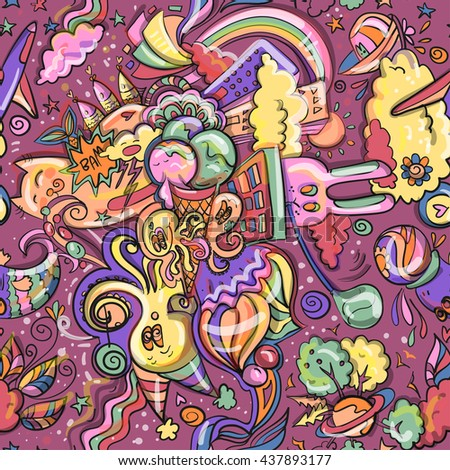 rainbow illustration wallpaper 1920x1080 - photo #15