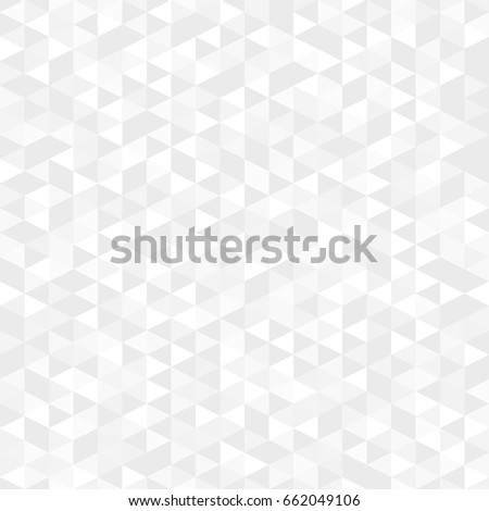 Trendy seamless pattern with triangles