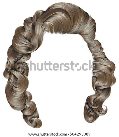 trendy woman hairs   blond