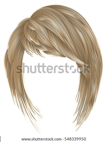 trendy  woman  hairs kare with