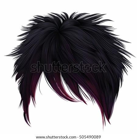 trendy woman short  hairs