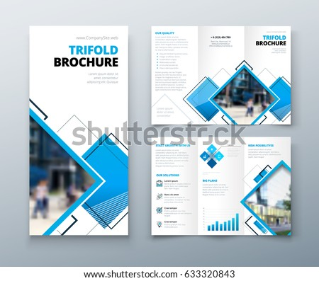 tri fold brochure vector download free vector art stock graphics