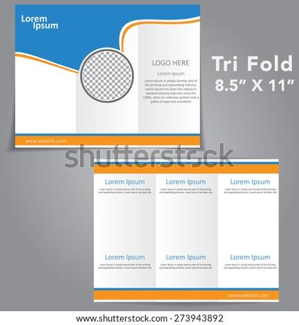 Tri Fold Brochure Vector Design #273943892