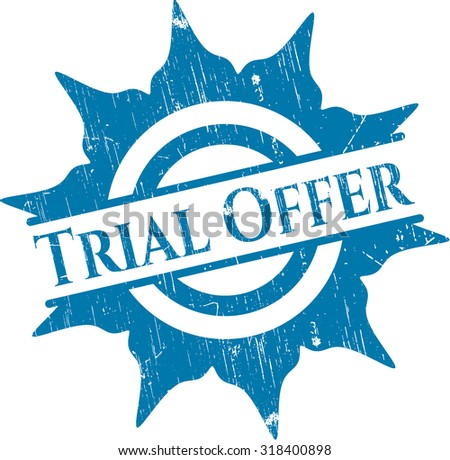 Trial Offer rubber seal