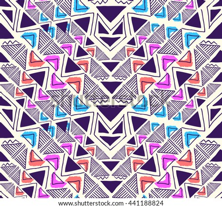 triangle geo pattern design