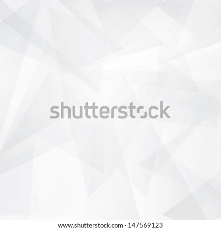 triangle modern white abstract