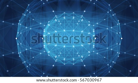 triangle mosaic vector