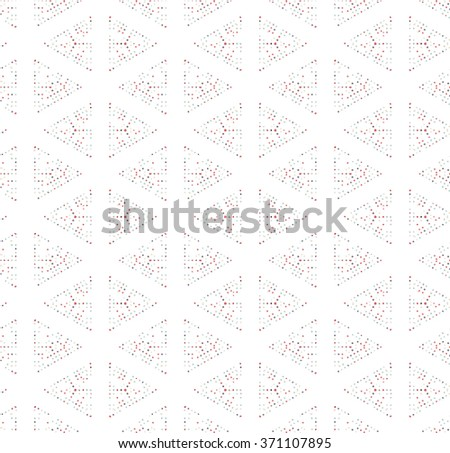 Triangle seamless pattern. Geometric pattern. Vector background pattern.