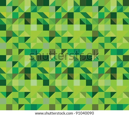 triangle seamless pattern - vector illustration