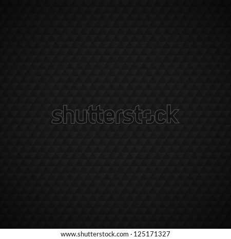 Triangles Background - Black - Shutterstock ID 125171327