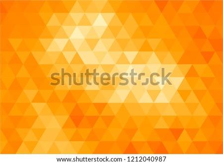 stock-vector-triangles-orange-background