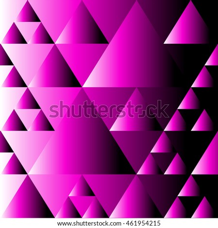 triangles pattern picture for