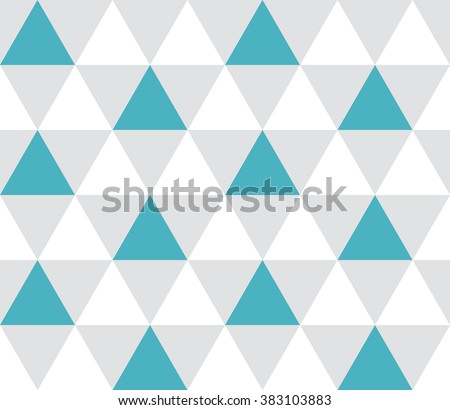 Royalty free Triangular blue turquoise green