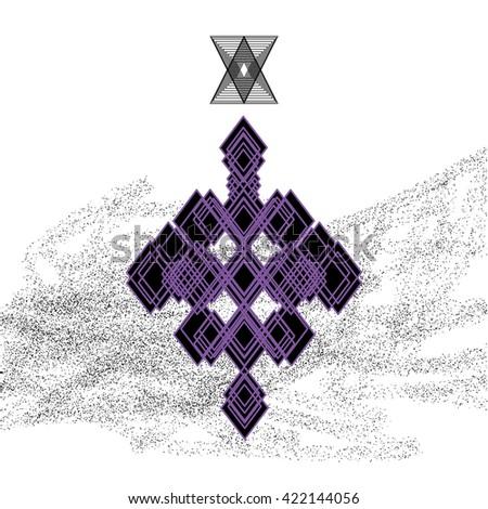 triangular pattern triangular