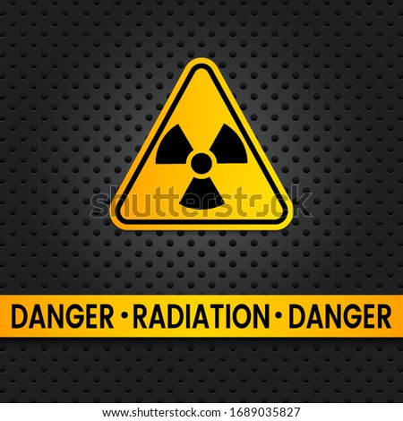 triangular radiation hazard