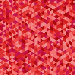 Triangular red background vector