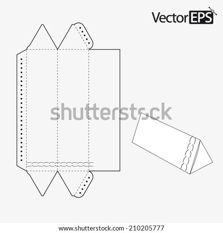Triangular Tube With Zipper 210205777