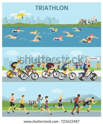 triathlon marathon sport