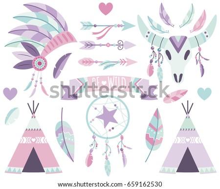 tribal boho elements 3