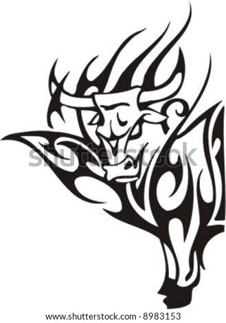 bull tattoo tribal designs Bull Body: Designs  Cute Tribal Tattoo on 30 Stunning Tattoos