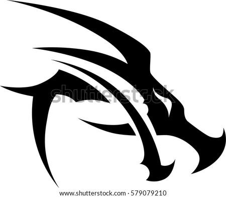 Vecteur De Dragon Tribal Telechargez De L Art Des Graphiques Et