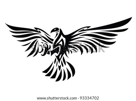 Eagle Tattoo - Download Free Vector Art, Stock Graphics & Images