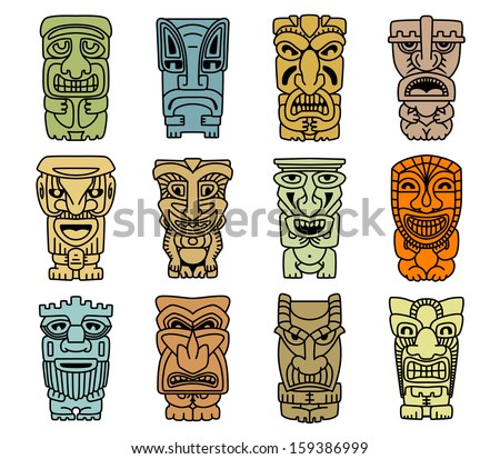 tribal mask download free vector art stock graphics images