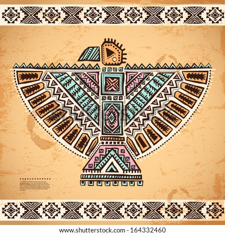 Tribal native American eagle