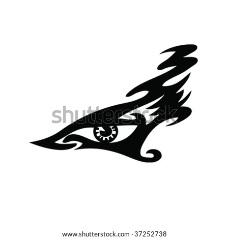tribal tattoo. abstract. animal
