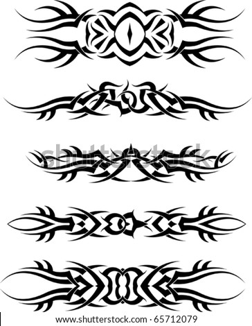 Simple Tribal Band Tattoo