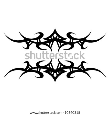 tribal band tattoo. stock vector : Tribal Tattoo