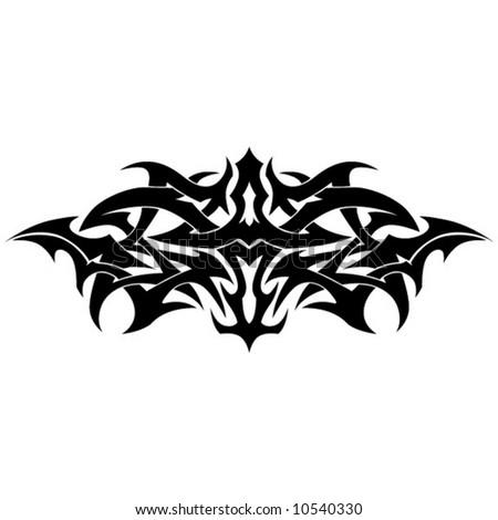 stock vector Tribal Tattoo Armband