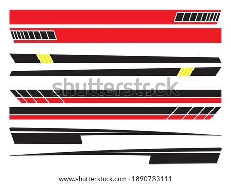 tripes Car Decal, Racing Rally Stripes, Auto Graphic Decal Vinyl Car, Auto Racing Stripes Stickers, Racing Rally Car Decal