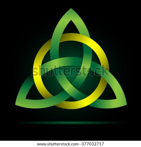 Triquetra Celtic Trinity Knot Celtic Irish Christian Symbol