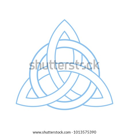 Triquetra Celtic Trinity Knot Celtic Irish Christian Symbol