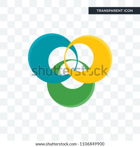 triskelion vector icon isolated