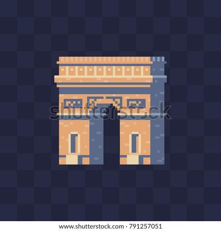 triumphal arch. monument...