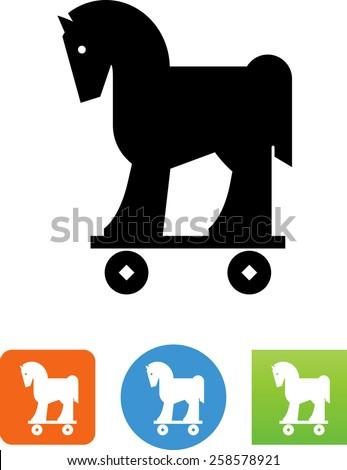 trojan horse symbol for
